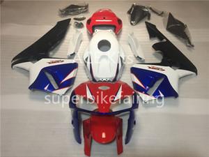 3 brindes para honda cbr600rr f5 05 06 CBR600RR 2005 2006 injeção ABS motocicleta carenagem Kit branco azul vermelho AS1