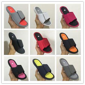 Toptan 6 VI terlik 6 s kırmızı Slayt sandalet Hidro plaj açık erkekler ayakkabı rahat koşu Spor 4 5-13 sneakers boyutu 36-47