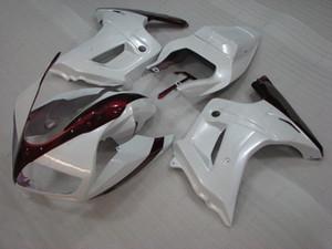 Carrosserie SV650 05 06 Carénage ABS SV1000 2005 Carénages en plastique blanc rouge SV 650 2006 2003 - 2013