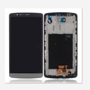 LG G3 D850 D851 D855 için orijinal Dokunmatik Ekran Digitizer Meclisi ile lg g3 YENI LCD Ekran için büyük Kalite