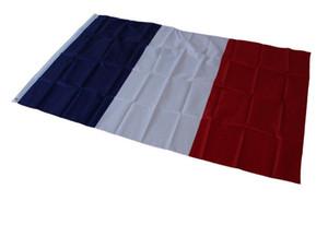 Polyester France Nation Drapeaux 3 Par Drapeau 5 pieds de drapeaux classique en polyester Français Français bannière de drapeau laiton Eco-Friendly Noël