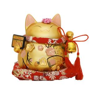 Matt abacus Lucky Cat ornements abacus véritable Lucky Cat grande en céramique mariage / ouverture / cadeau de vacances