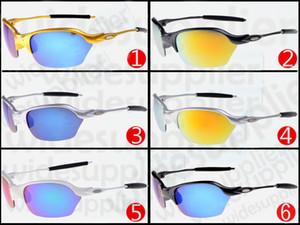 2017 Lunettes de soleil tendance mode lunettes de soleil super cool marque designer lunettes de soleil pour hommes et femmes lunettes de soleil cyclisme conduite 6185 avec étuis