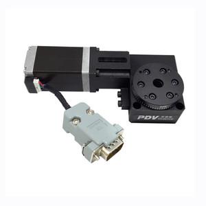 PX110-30 전기 회전 기계, 전기 광학 회전 플랫폼, 전동 회전 스테이지, 직경 : 30mm
