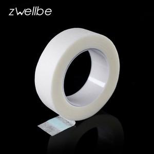 Wholesale- zwellbe 3 Pcs/Lot Eyelash Extension Lint Free Eye Pads White Tape Under Eye Pads Paper T For False Eyelash Patch Make Up Tools