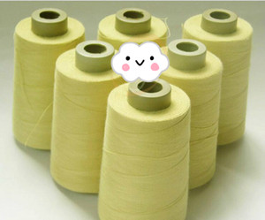 FL 100% linea 1414 fibra aramidica resistente al taglio ignifugo filo Kevlar ignifugo ad alta temperatura sostegno fili personalizzata