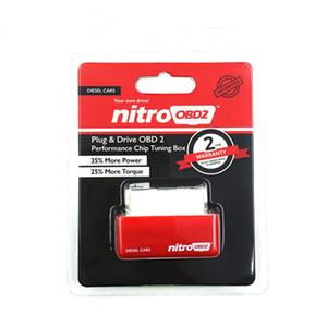 프로 모션 판매 NitroOBD2 디젤 성능 칩 튜닝 상자 플러그 앤 드라이브 니트로 OBD2 엔진 케어 칩 튜닝 상자 레드 컬러