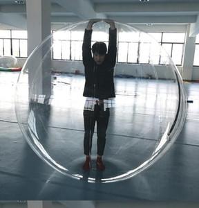 1.3m 1.5m 1.8m Çocuklar Su oyuncak Yürüyüş top PVC şişme haddeleme topu su dans Zorb topları spor büyük topları