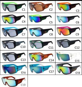 Óculos de sol DOMO Cycling Sports Outdoor Homens Mulheres Sunglasses Óptica Óculos de sol 19 cores