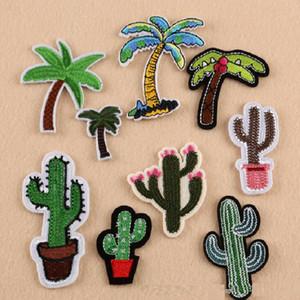 Iron On Patch Patch adesivo ricamato fai-da-te per abbigliamento Abbigliamento Distintivi in tessuto Cucitura di cactus in cocco