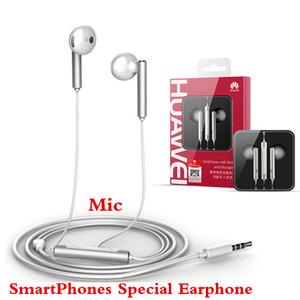 Alta Qualidade Smartphone Fones De Ouvido de Metal Estéreo Fones De Ouvido Mic 3.5mm fone de Ouvido Intra-auricular para SmartPhone HTC Huawei P9 P8 mate9 IPhone6 Fone de Ouvido