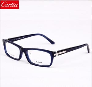 CA5231 كارفيا نظارات إطارات 56 ملليمتر مصمم النظارات إطارات 2017 جديد وصول لوح النظارات البصرية النساء الرجال إطارات للنظارات freeshipping