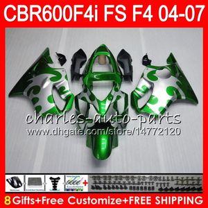8Gifts 23Colors für HONDA CBR600FS FS CBR600F4i 04 05 06 07 AAHM24 CBR600 F4i CBR 600F4i CBR 600 F4i 2004 2005 2006 2007 Verkleidungs