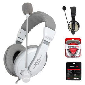 SENICC ST-2688 Stereo Gaming наушники с микрофоном Регулятор громкости с шумоподавлением гарнитура для компьютера PC мобильный сотовый телефон высокого качества