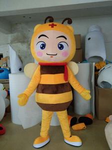 Красивые маленькие пчелы костюмы талисмана реквизит костюмы Хэллоуин бесплатная доставка