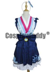 LoveLive! SunShine !! Dreamer Watanabe You Girls Kimono Traje de Vestir Traje de Cosplay
