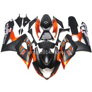 5 regali gratuiti Nuovi Kit carenatura moto ABS 100% adatto per SUZUKI GSXR1000 K5 2005-2006 GSXR 1000 K5 05-06 nice orange black nice 188