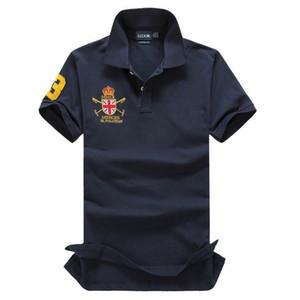 Ünlü Büyük At Erkekler Gömlek Uzun Kollu Katı Gömlek Camisa s Masculina Casual Polyester Tees Gömlek Tops