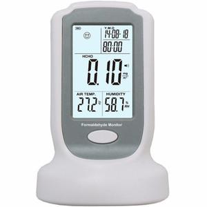 Freeshipping Détecteur de formaldéhyde haute sensibilité mètre Test de qualité de l'air HCHO Testeur d'analyseur de gaz 0-3mg / m3 Résolution: 0.01mg / m3