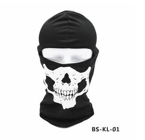 Tactical капюшон на открытом воздухе на велосипеде Маски призрак черепа головы маска Мотоцикл Горные лыжи Велоспорт Полный Hood Хэллоуин костюмы косплей маски