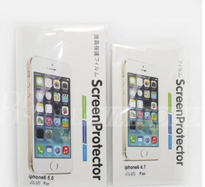 Clear Screen Protector Guard Film per Iphone 8 X 7 plus Iphone 6S plus 5S Samsung Galaxy Note 5 Nota 4 S8 / S7 / S6 / S5