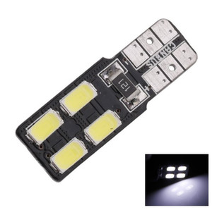 T10 Coche blanco Styling Car Auto Canbus W5W 5630 SMD 4 LED Car Auto LED Light Light Placa de matrícula Luces de separación Luz de lectura Lámpara de cúpula