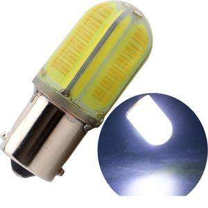 Новый супер яркий 1156/1157 8 COB 360 градусов LED авто поворота автомобиля лампа заднего хода хвост лампы тормоз хвост парковка свет противотуманные фары DC 12 В