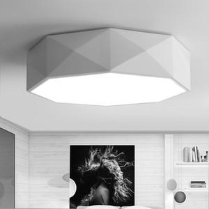 Dans le moderne moderne géométrique simple multi-facettes créatif fer plafond plafond salon chambre étude restaurant balcon allée lumières