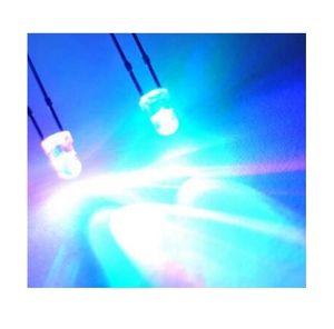 MIX Rosso / Verde / Blu / Giallo / Bianco LED lampeggiante LED lampeggiante 3mm diodo Ultra Bright