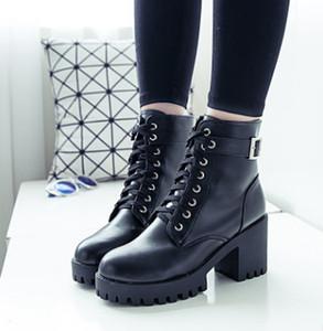 36-39 femmes occasionnelles Martin noir botte en cuir chaud hiver tube souple plus neige fille adultes Chaussures Zapatos Botas Patent boost