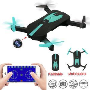 Складной Poateet Drone WiFi FPV Quadcopter Mini Drone Selfie Drone RC Drones с камерой HD FPV Professional RC вертолет подарок для детей