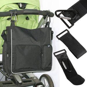 Venta al por mayor- Trendy Baby Spotchair Stroller Clip Hook Buggy PRAM MARABINER BACK BAG HOGER