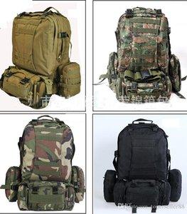 50L grande molle tactique 3 jours assaut sacs à dos sac à dos sac de camping en plein air