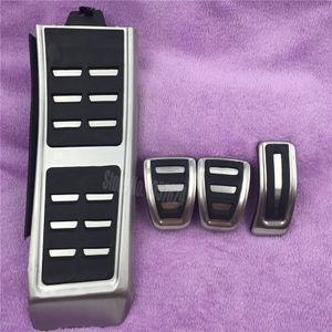 Almohadillas antideslizantes del pedal del freno del freno del acelerador de gas para Audi S4 RS4 A5 S5 RS5 8T A6 4G S6 (C7) Q5 S5 RS5 A7 S7 SQ5 8R LHD 2009