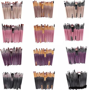20 Stücke Kosmetik Make-Up Pinsel Set Puder Foundation Lidschatten Eyeliner Lip Brush Tool Marke Make-Up Pinsel schönheit werkzeuge pincel maquiagemA08