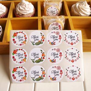 3.5CM rund Danke Gastgeschenke Gastgeschenke Siegel Aufkleber Geschenk Verpackung Siegel Etiketten Verpackung Etiketten Party Dekorationen