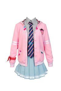 Malidaike Аниме вокалоид Miku Project DIVA-f Униформа Костюм костюма Сейлорская одежда Школьный студенческий костюм