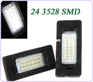Ошибка бесплатно 3528 SMD 24 светодиодов автомобилей лицензии света Светодиодные лампы пластины LED свет лампы для BMW E39 E60 E61 E90 5 серии