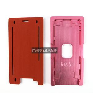 Molde do molde do metal da precisão para o iphone 5 5s 7 6 6s mais o quadro de vidro dianteiro 2 em 1 molde de alumínio com mat DHL