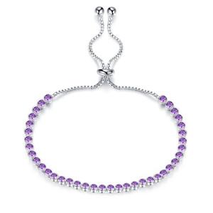 Bohemio Lolita Zircon Cuff Bracelet Cobre platino 5 colores Cubic Zirconia ajustable pulseras brazalete encanto moda joyería mujeres