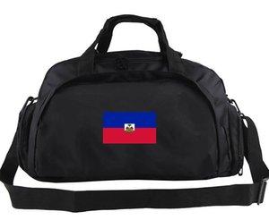 Borsa da viaggio Haiti Borsa casual da strada Zaino da palestra Haiti Bagagli da calcio Borsone da spalla sportivo Zaino da esterno