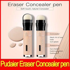 Pudaier Concealer 지우개 지우개 Dark Circles 트리트먼트 컨실러 액체 컨투어스 아이 페이스 컨실러 펜 Dark Circles Corrector dhl 무료