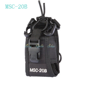 walkie talkie Baofeng radio case holder MSC-20B per due vie Radio Transceiver Baofeng UV-5R UV-5RE UV-5RA Yaesu Vextex TYT TH-F8