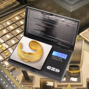 مقياس جيب 100/200/300 / 500G X 0.01g 1000G س 0.1 مقياس رقمي الالكترونية الدقيق مجوهرات مقياس موازين مطبخ عالية الدقة
