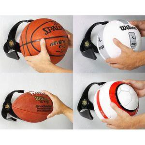 Titular Moda PC Bola Garra Wall Mount Basketball Futebol do futebol de armazenamento Voleibol Grelha Para Home Decor