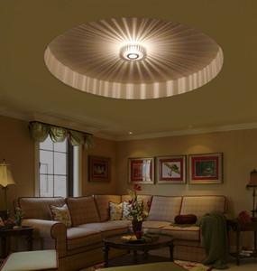 Wholesale 3 w LED applique da parete argento decorazione portico lampada da sole fiore AC100-240 - v senza ombre per interno lampada da parete a LED sconce soggiorno letto