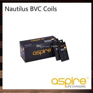 Aspire Nautilus BVC Катушка Голова 0.7 Ом 1.6 Ом 1.8 Ом Для Наутилуса 2 Бак Наутилус Мини Распылитель 100% Оригинал
