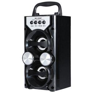 El altavoz inalámbrico portátil de Bluetooth de la salida de alta potencia de Redmaine apoya el control de volumen de la tarjeta del TF de FM