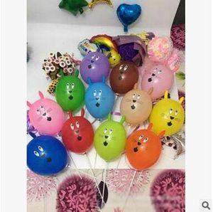 جديد وصول الأرنب رئيس بالون الحيوان شارب الجدة بالون سماكة بالون الأطفال أطفال اللعب حزب الديكور شحن مجاني
