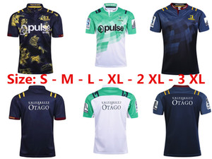 Wholesale 16 17 18 Highlanders 럭비 유니폼 뉴질랜드 Super Rugby Union Highlanders 고온 열 전달 저지 럭비 셔츠